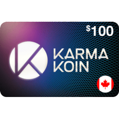 Nexon Karma Koin $100 (CAD)