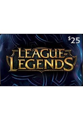 League of Legends $25 [Digital Code]