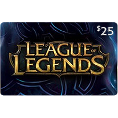 League of Legends $25 [Digital Code]