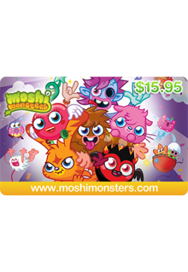 Moshi Monsters $15.95 [Digital Code]