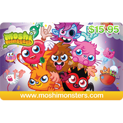 Moshi Monsters $15.95