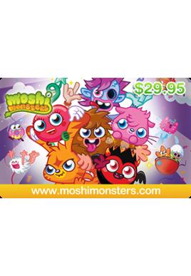 Moshi Monsters $29.95 [Digital Code]