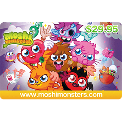 Moshi Monsters $29.95