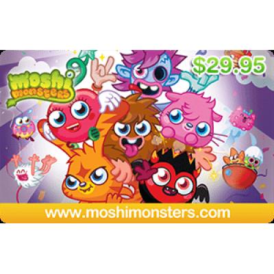 Moshi Monsters $29.95