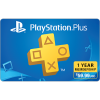 PlayStation Plus 1 Year Subscription [Digital Code]