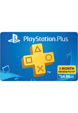 PlayStation Plus 3 Month Subscription [Digital Code]