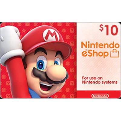 Nintendo eShop $10 [Digital Code]