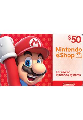 Nintendo eShop $50 [Digital Code]