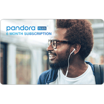 Pandora ONE 6 Month [Digital Code]