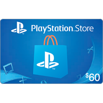 PlayStation Store $60 [Digital Code]