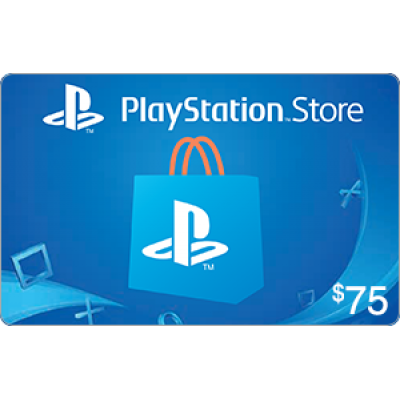 PlayStation Store $75 [Digital Code]
