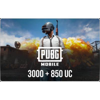 PUBG Mobile 3850 UC