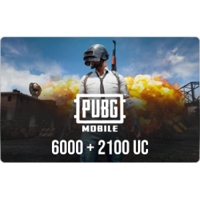 PUBG Mobile 8100 UC