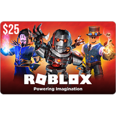 Roblox $25 Game Card