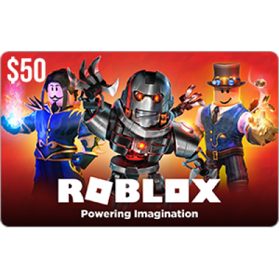 Roblox $50 Game Card [Digital Code]