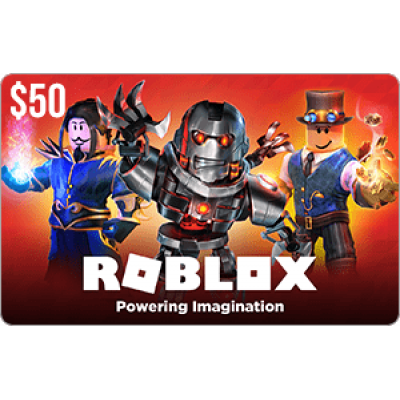 Roblox $50 Game Card
