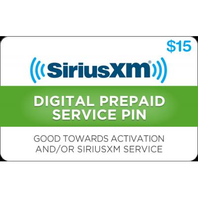 Sirius XM $15