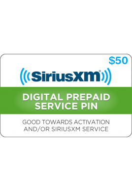 Sirius XM $50 [Digital Code]