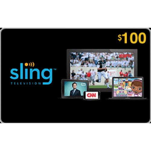 Sling TV $100 Gift Card