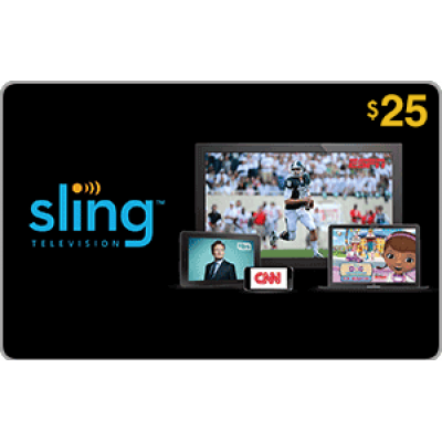 Sling TV $25 [Digital Code]