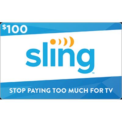 Sling TV $100