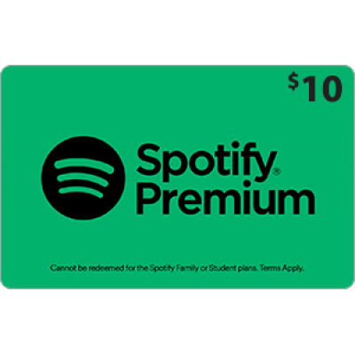 Spotify $10 [Digital Code]