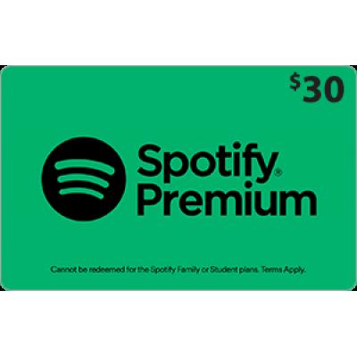 Spotify $30