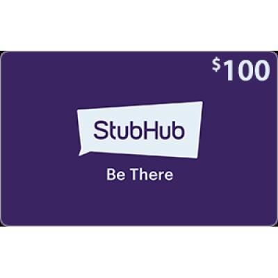 StubHub $100