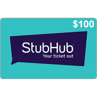 StubHub $100 [Digital Code]