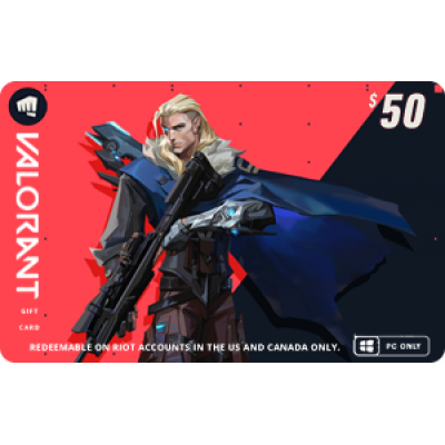 VALORANT $50 Gift Card