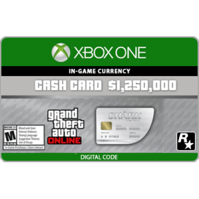 XBO GTA V: Great White Shark Cash