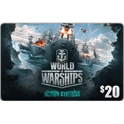 Wargaming.net World of Warships $20