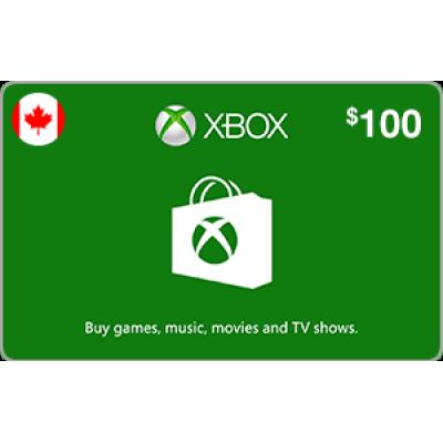 Xbox $100 (CAD)