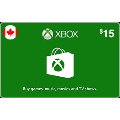 Xbox $15
