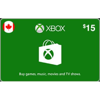 Xbox $15 (CAD)