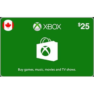 Xbox $25