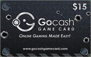 GoCash Game Card $15
