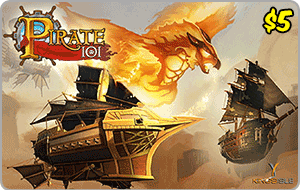 Kingsisle Pirate 101: 2,500 Crowns $5.00