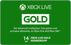 Xbox Live 14 Day Gold Membership Trial
