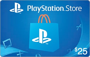 PlayStation Store $25