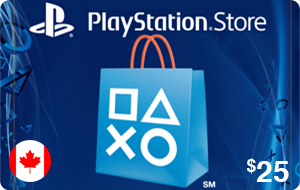 PlayStation Store $25 (CAD)