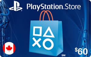 PlayStation Store $60 (CAD)