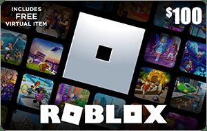 Roblox $100 Game Card