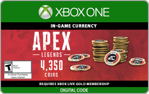 XBO APEX LEGENDS™ 4350 Apex Coins