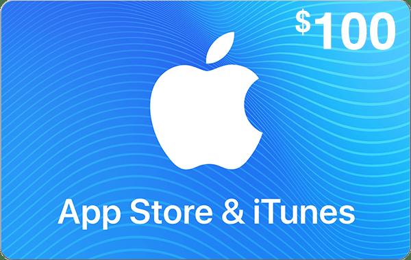 App Store & iTunes $100