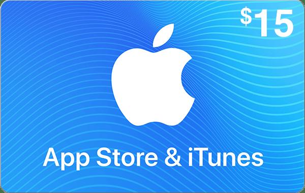 App Store & iTunes $15