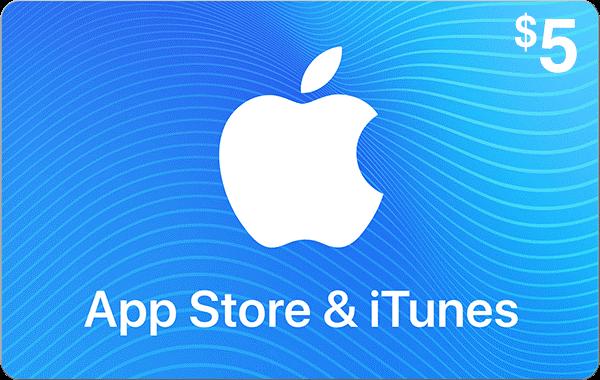 App Store & iTunes $5