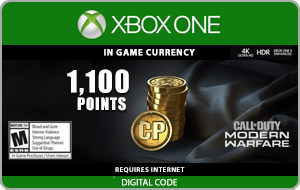 XBO Call of Duty: Modern Warfare 1100 Points