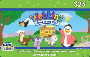 Webkinz $25