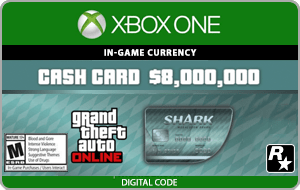 XBO GTA V: Megalodon Shark Cash
